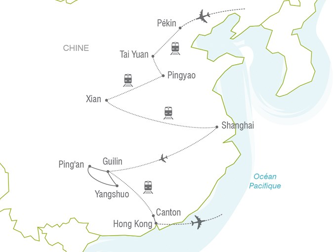 Carte Chine Voyage.Voyage A La Carte Legendes Chinoises Chine Entre Nous
