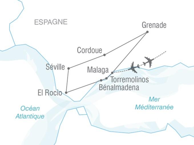 Andalousie Carte Didentite.Voyage A La Carte L Andalousie En Toute Liberte Espagne Entre Nous