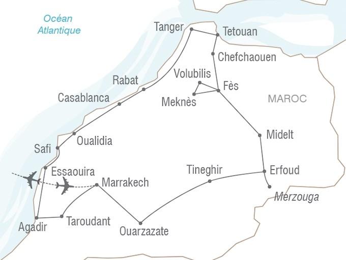 Voyage Entre Nous Le Grand Tour Du Maroc