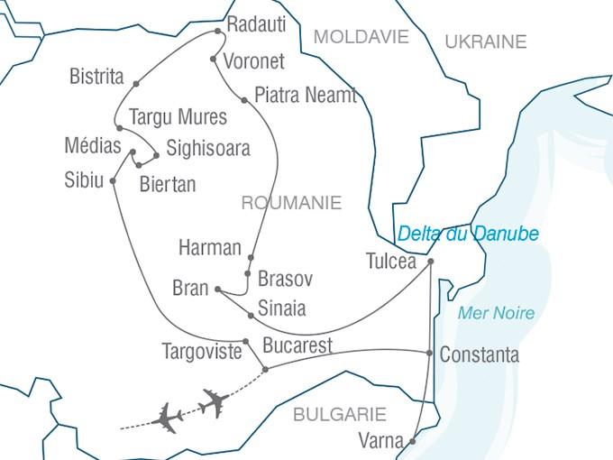 Voyage Entre Nous Le grand tour de Roumanie