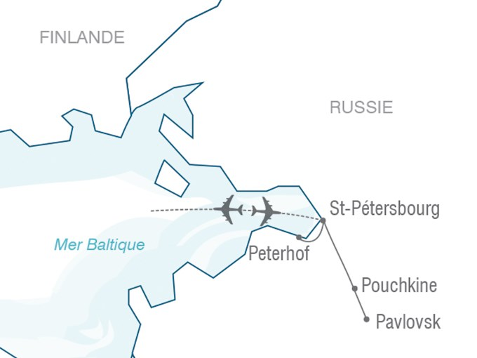 Voyage Entre Nous Majestueuse Saint-Pétersbourg
